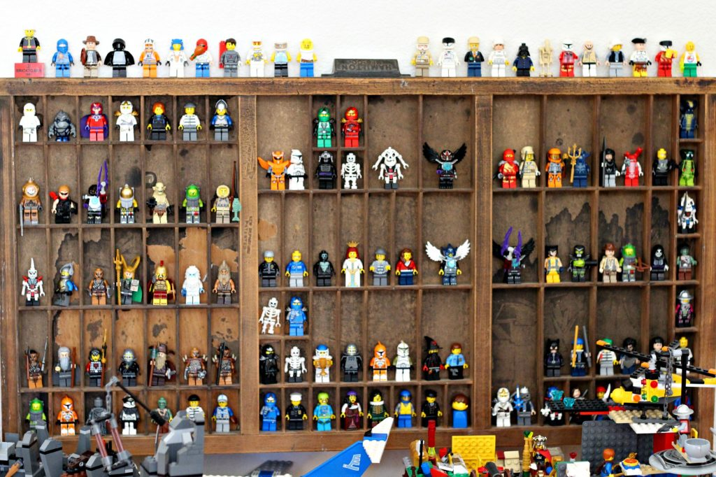 Toy Organization Lego Figures Display