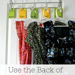 Use the Back of Doors and Cabinets – 31 Days of Organizing and Cleaning Ideas