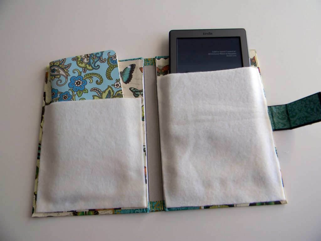 Kindle Cover add pockets