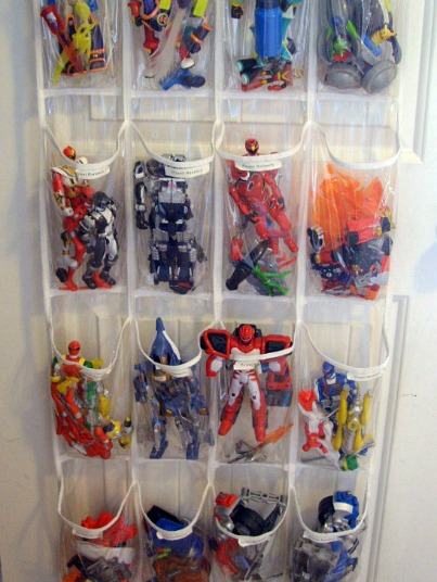 Toy Organization Back of Door