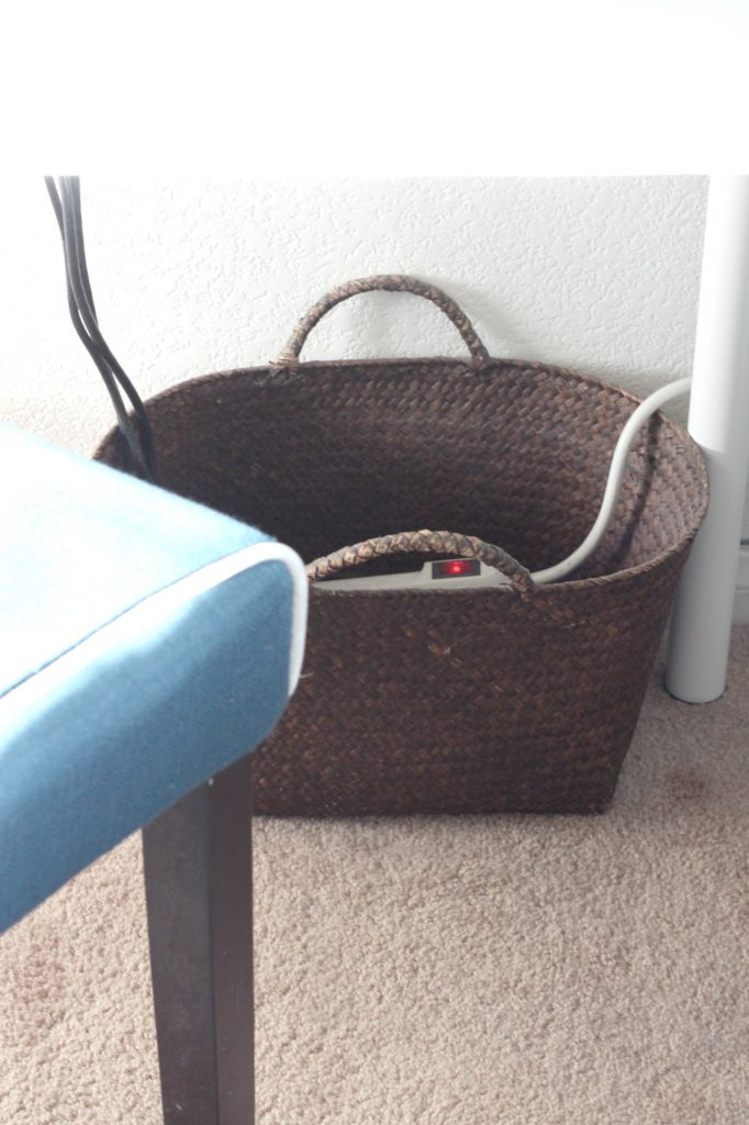 Baskets for Cord Control 2