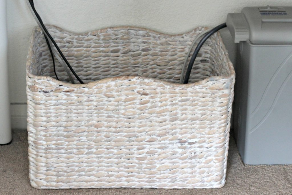 Baskets for Cord Control 3
