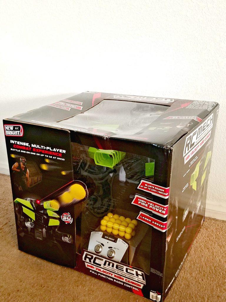MECH Robo Cannon boxed