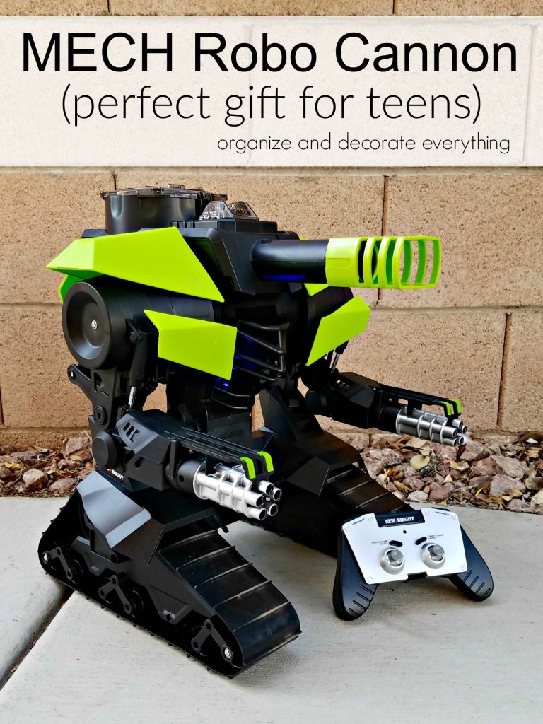MECH Robo Cannon perfect gift for teens