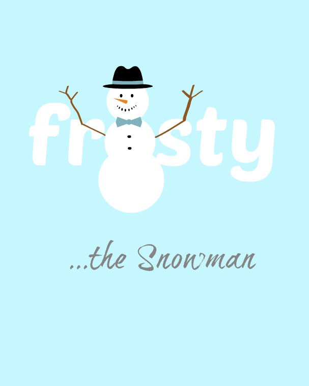 Frosty the Snowman printable