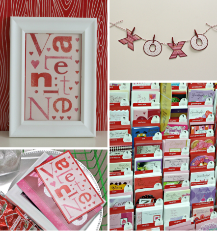 Valentine's Day Framed Card and Banner