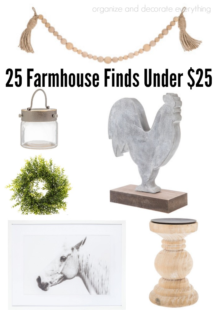 Farmhouse Finds under $25