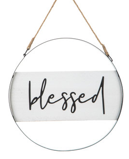 Blesses Metal Wall Decor