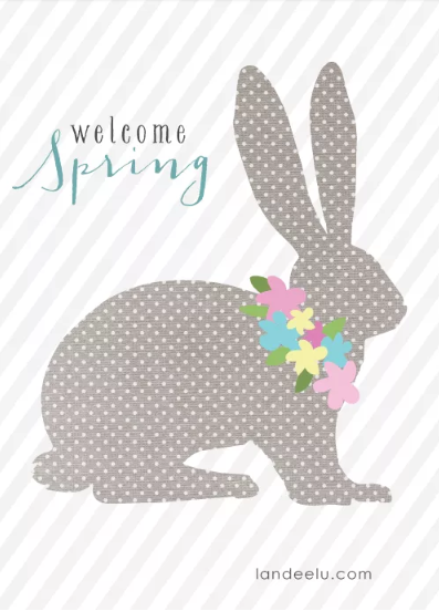 Welcome Spring Bunny