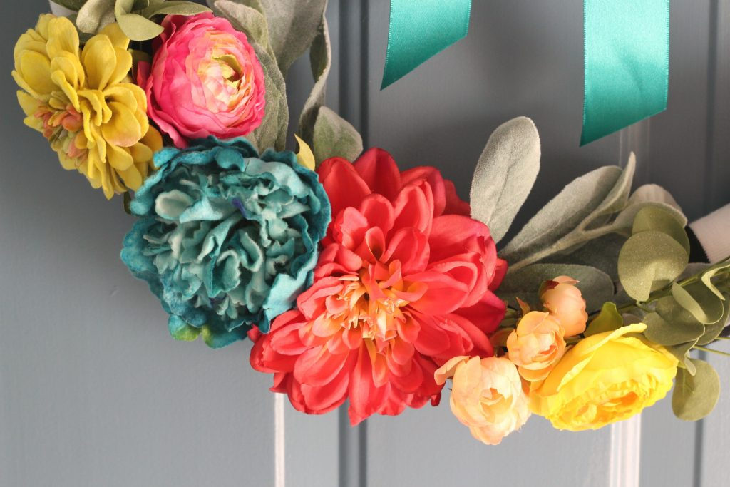 Spring Florals for wreath