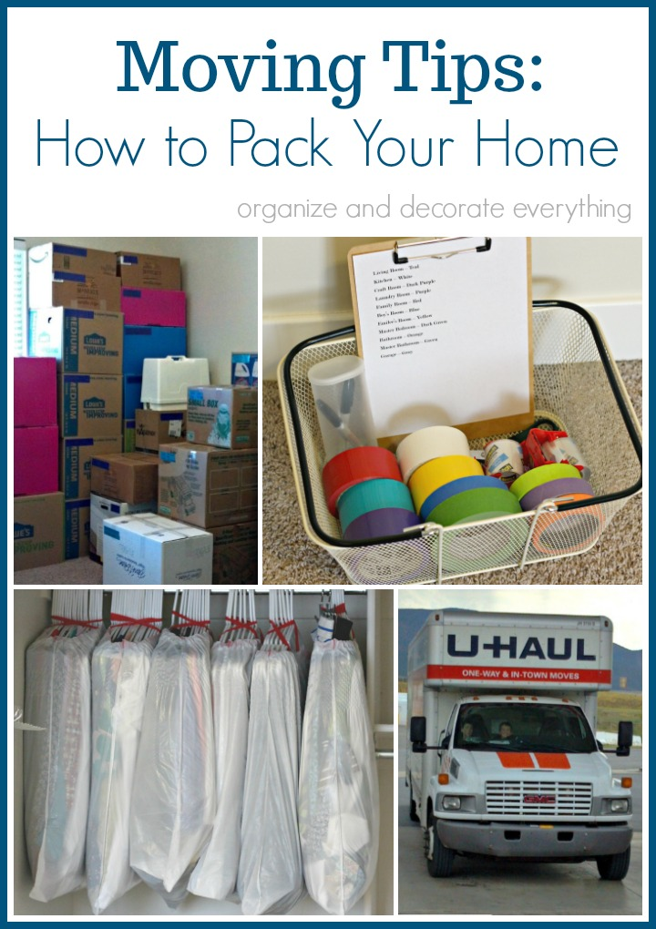 Moving Tips How to Pack Your Home