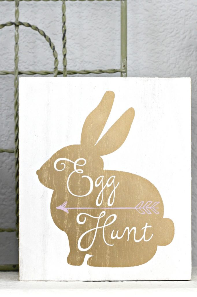 Egg Hunt sign