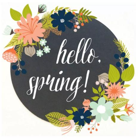 Hello Spring printables