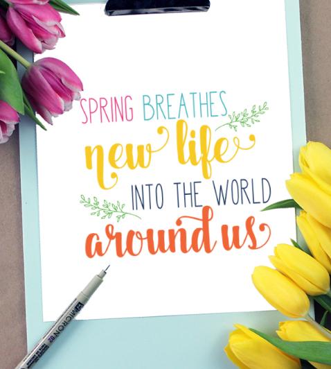 Spring Breathes
