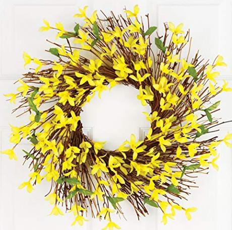 Forsythia Twig Wreath