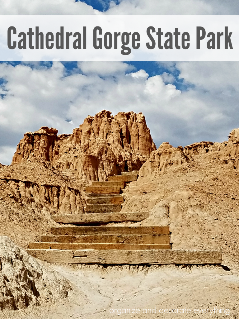 Visit Cathedral Gorge State Park in Nevada