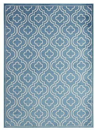 Moroccan Trellis Design Area Rug