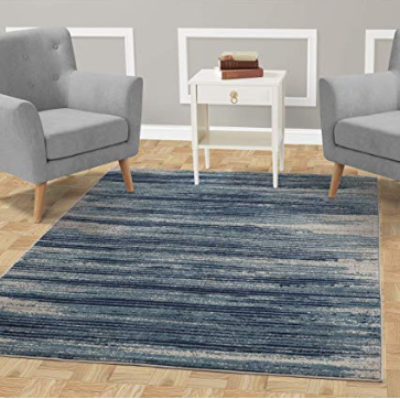 Contemporary Stripes Area Rug