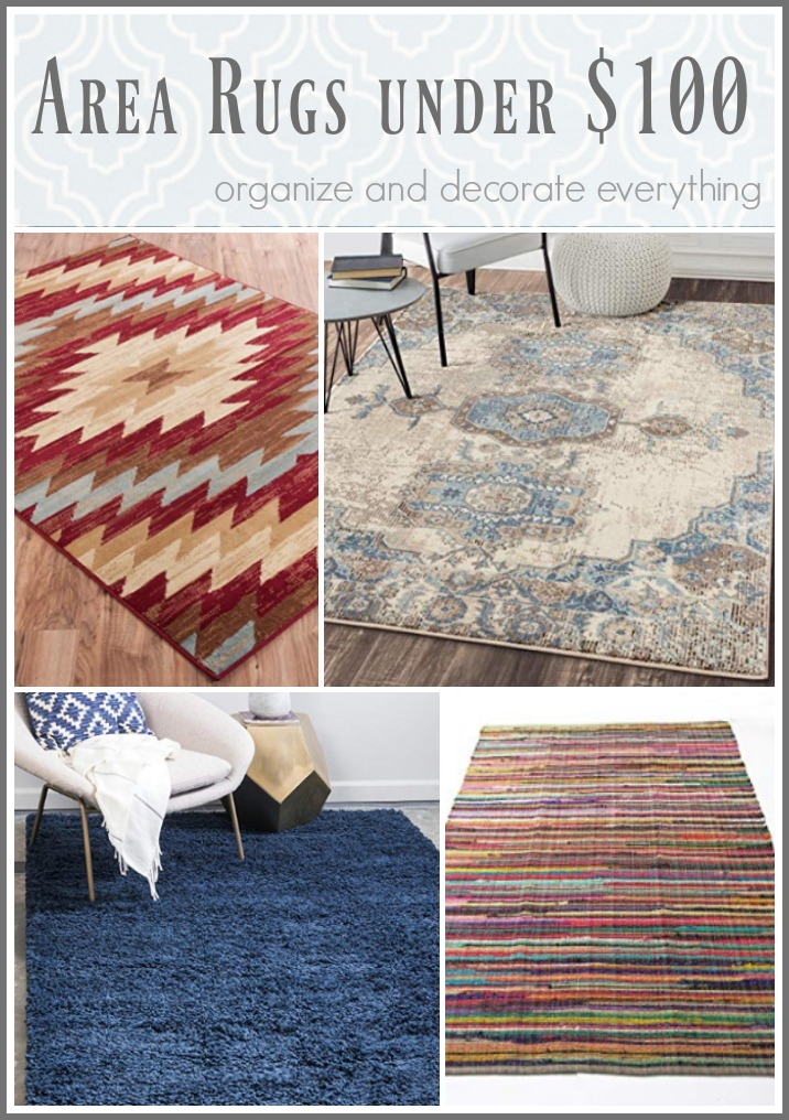 Area Rugs under $100 Favorite Friday Finds