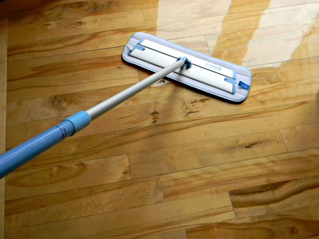 Mop Hardwood and Tile Floors