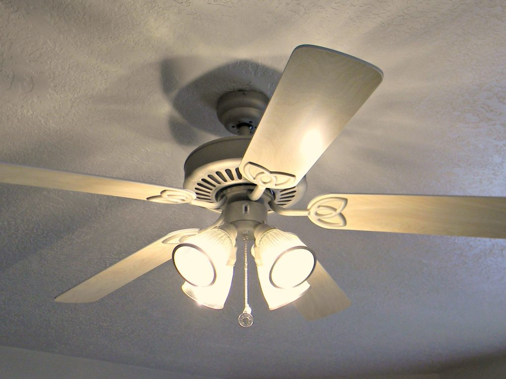 Dust and Clean Ceiling Fans