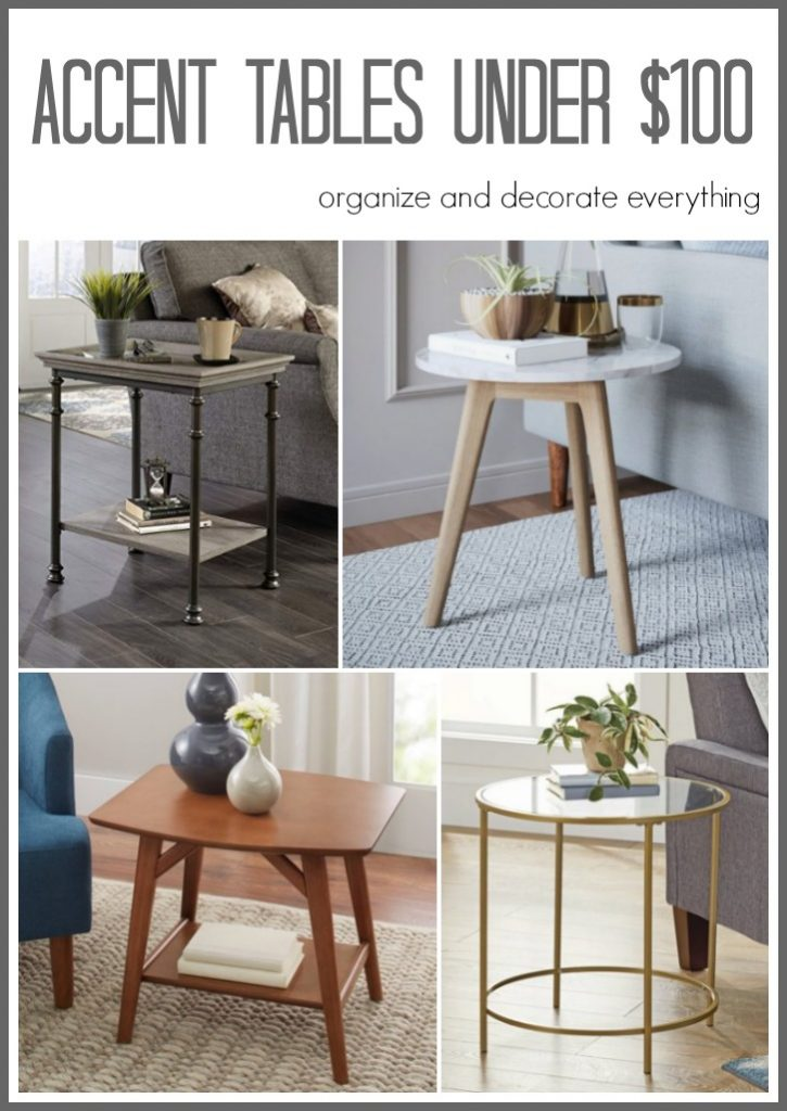 Accent tables that are under $100