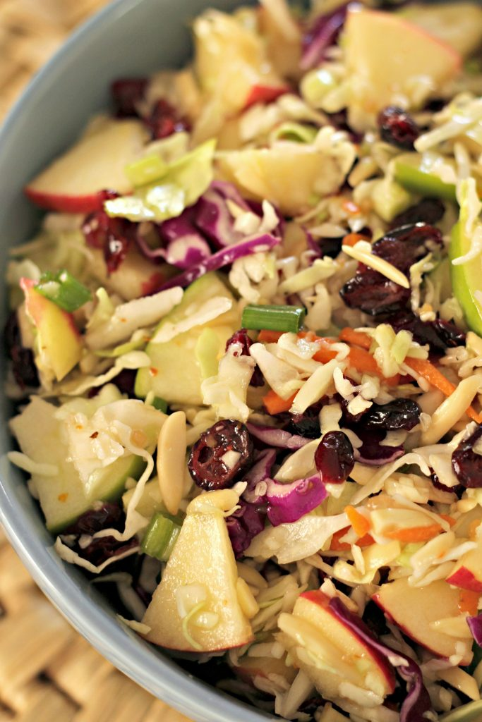 Apple Cranberry Slaw 3