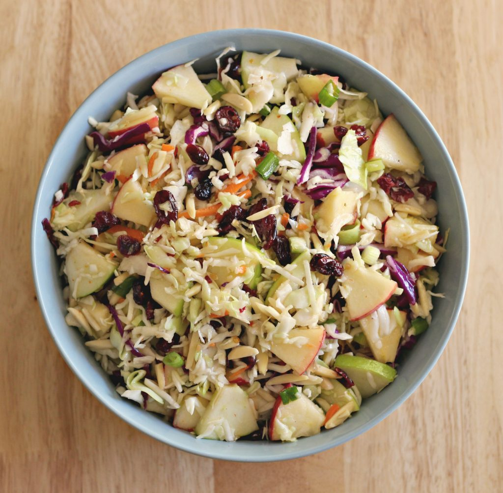 Apple Cranberry Slaw 4