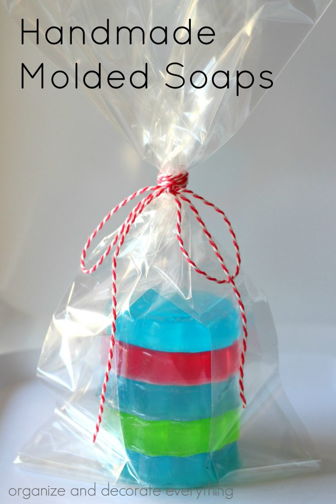 Handmade Molded Soaps are easy to make and are a wonderful gift