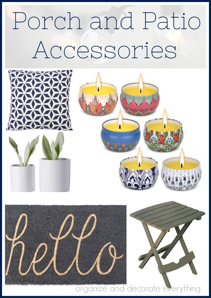 Porch and Patio Accessories under 25