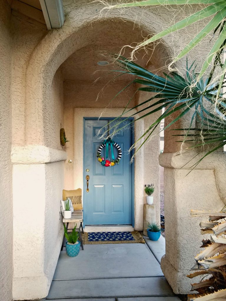 Spring Porch decor 2