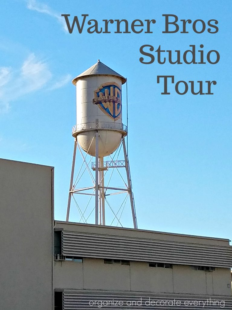 Warner Bros Studio Tour Hollywood Travel Series