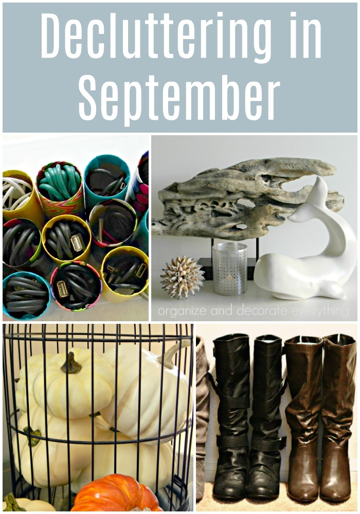 15 Things to Declutter in September