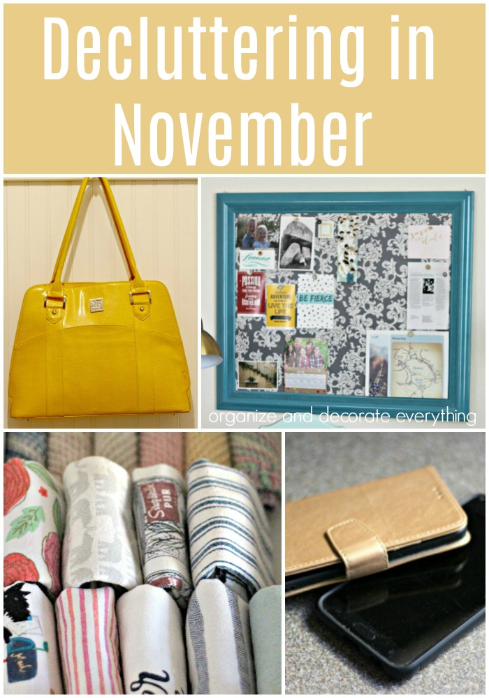 15 Things to Declutter in the month of November