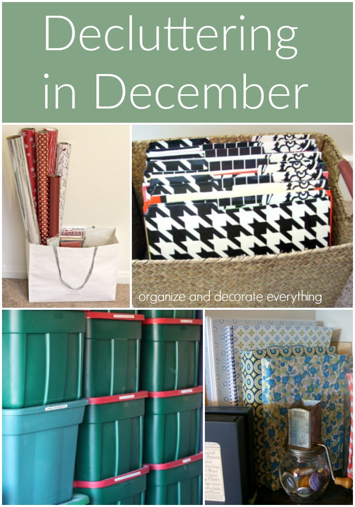 15 Things to Declutter in December