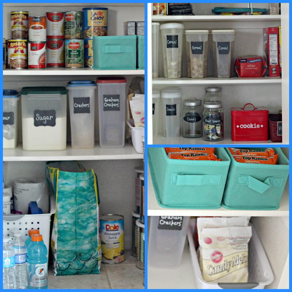 declutter kitchen pantry