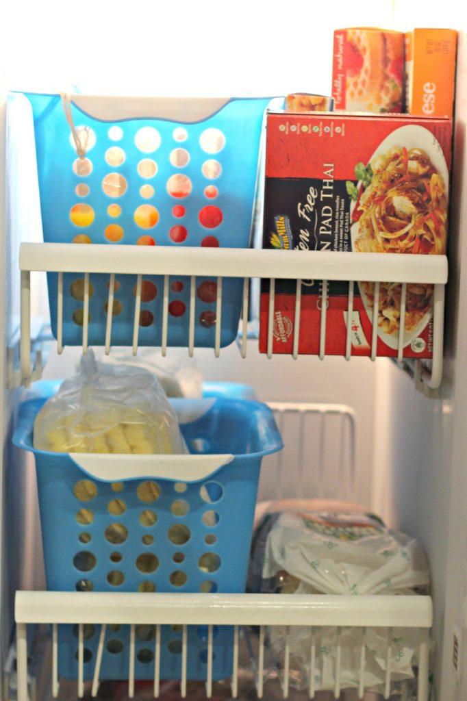 freezer decluttering