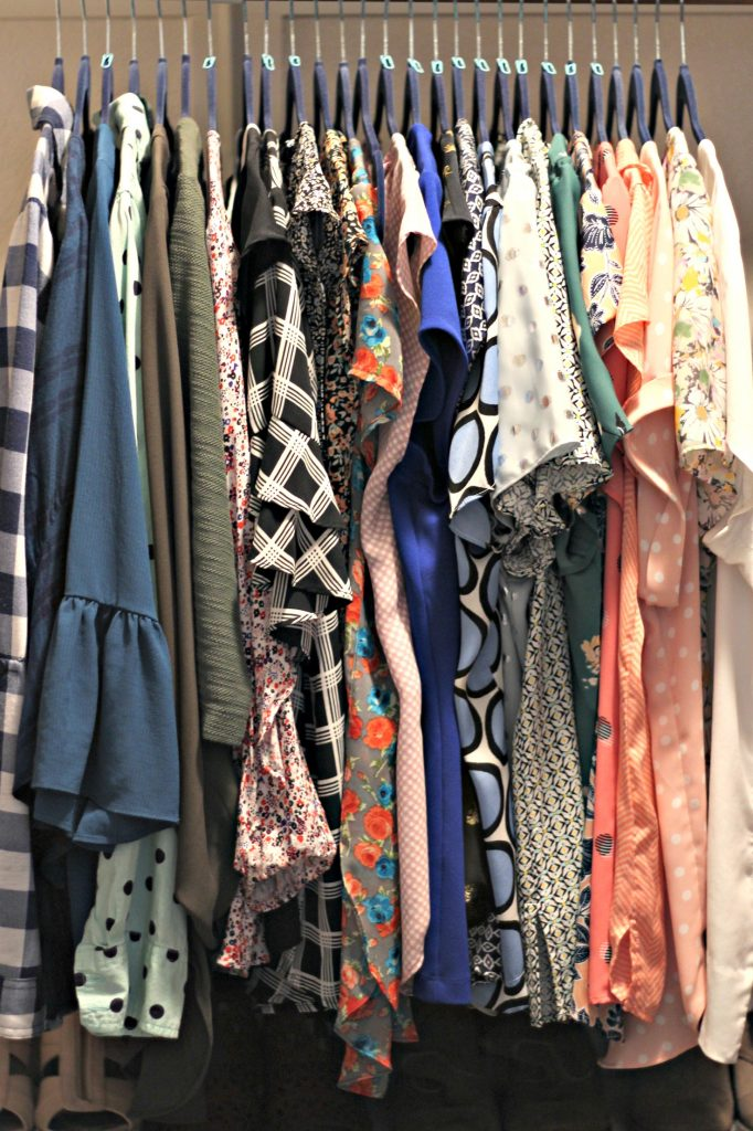 April declutter clothes
