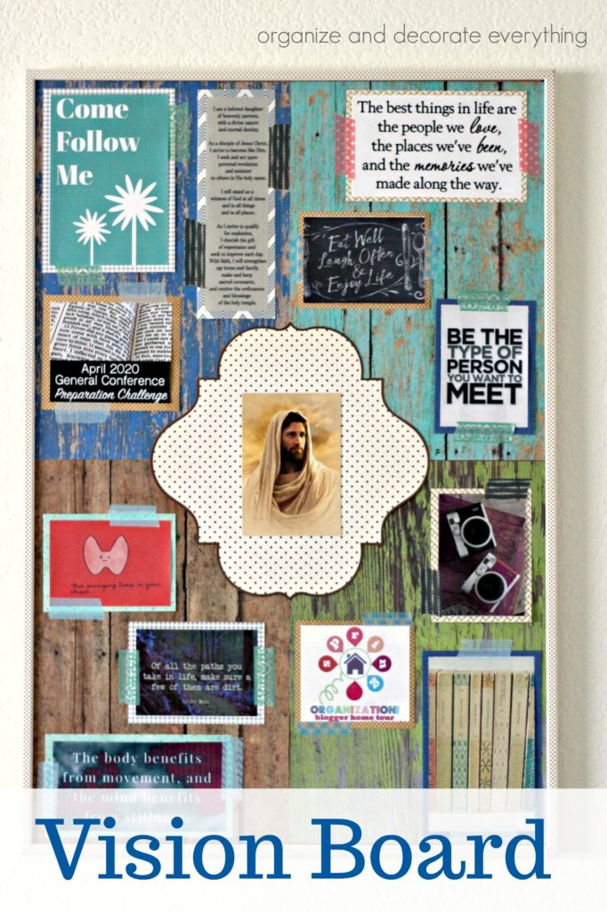 creating a Vision Board Tips and Ideas