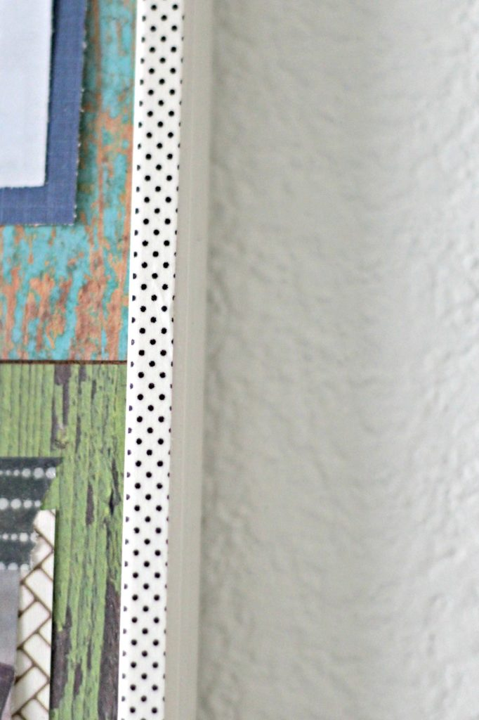 Vision Board washi tape trim