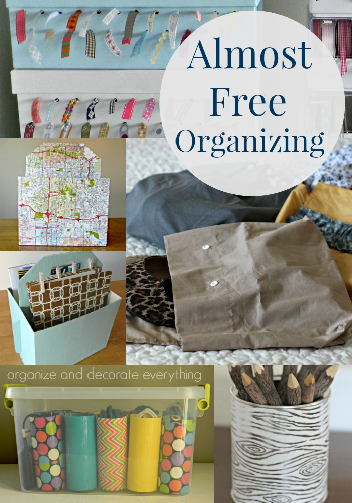 Almost Free Organizing for Your Home