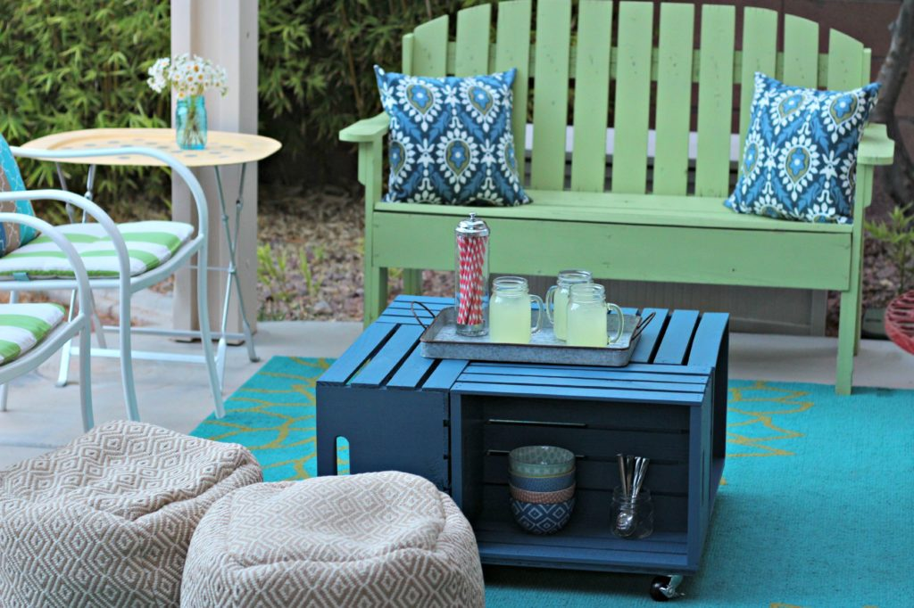 May decluttering outdoor furniture