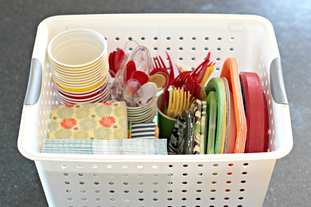 June decluttering consolidate things