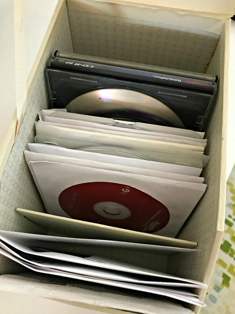 June decluttering CDs