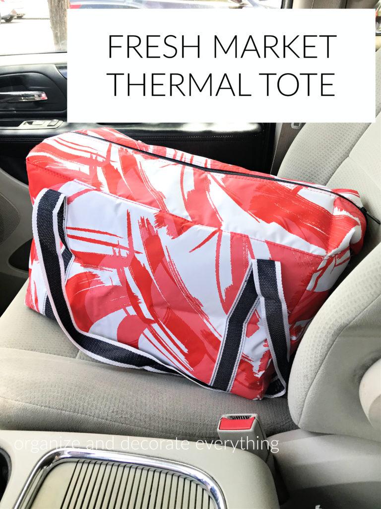 Fresh Market Thermal tote bag
