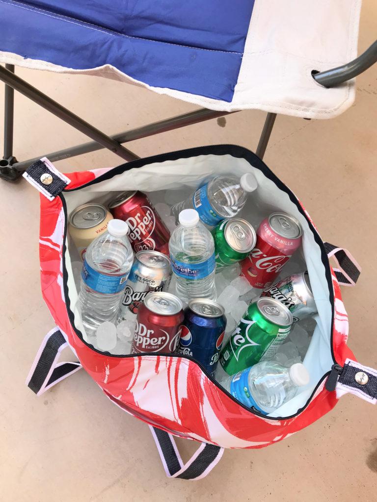fresh market tote drinks